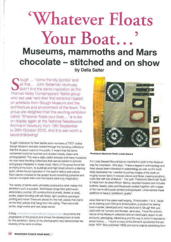 British Patchwork & Quilting: September issue - THAMES VALLEY TEXTILES
